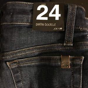 NWT Joe's Jeans petite bootcut